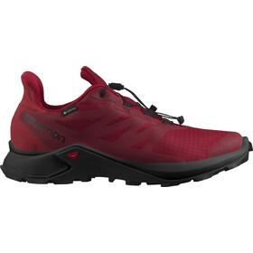Salomon Supercross 3 GTX Shoes Men biking red/white/chili pepper